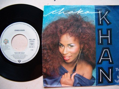 CHAKA KHAN - THIS IS MY NIGHT - CAUGHT IN THE ACT