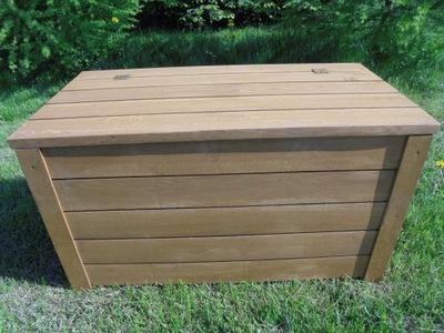 скамья с коробкой - дубовый