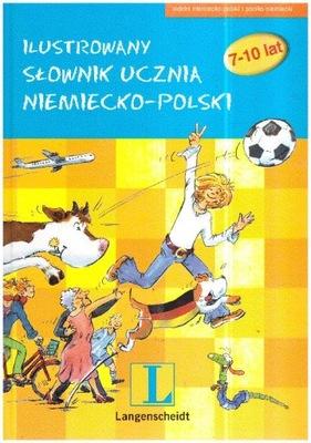 Ilustrowany słownik ucznia niemiecko-polski 7-10