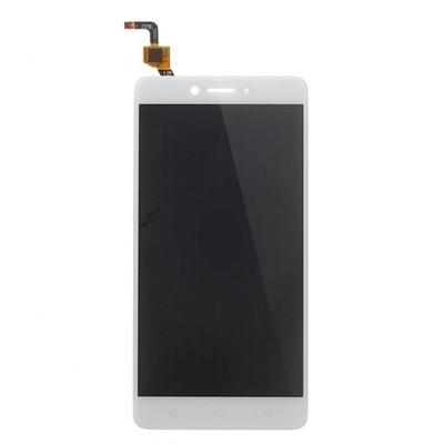Lenovo K6 Note LCD + DIGITIZER bialy