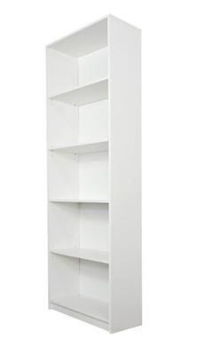 СТЕЛЛАЖ для книг ЕВА 60 см, Белый , мобильного шкаф