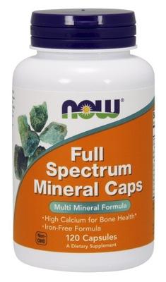 NOW Full Spectrum Minerals WITAMINY MINERAŁY 120k