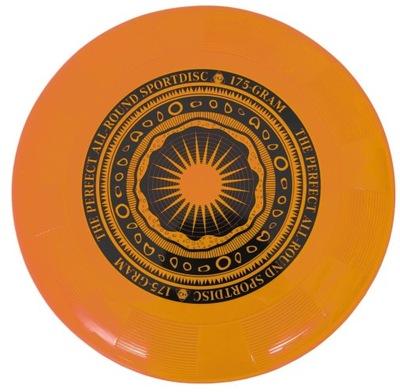 Orange disk Letí HQ pre hádzanie