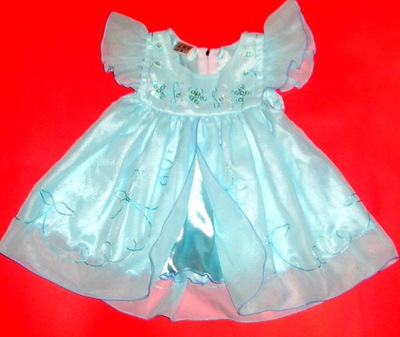 ELEGANCKA sukienka na BAL f-my L.Y.T r.62-68/3-6 m