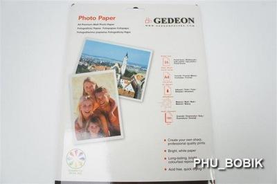 PAPIER FOTOGRAFICZNY DO ZDJĘĆ 21X29,7 180 5 KART