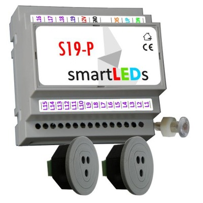 smartLEDs S19-P Ovládač pre schodisko LED + 2CZUJNIKI