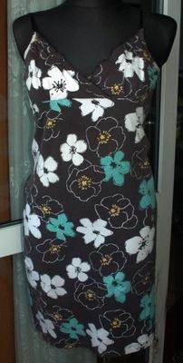 .,FISHBONE sukienka  R 38/40  gratis koral