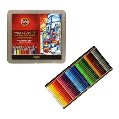 Pastelky, ceruzky na ceruzky 48 farba Polycolor Koh-i-Noor