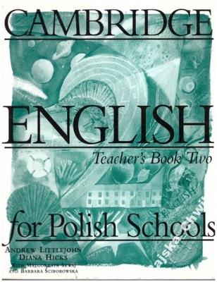Cambridge English for Polish Schools 2 Teacher's