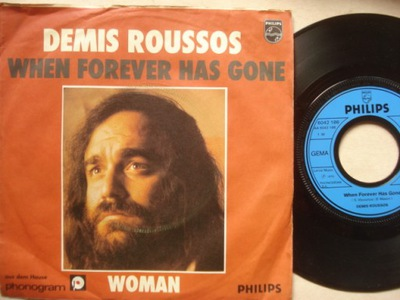 DEMIS ROUSSOS - WHEN FOREVER HAS GONE - WOMAN