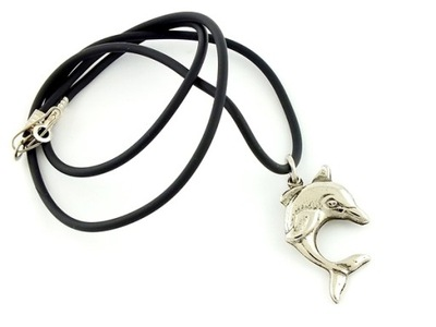 Wisior naszyjnik talizman amulet delfin - 043
