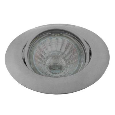 LAMPY HNUTEĽNÉHO CHROME SILVER GU10 LED