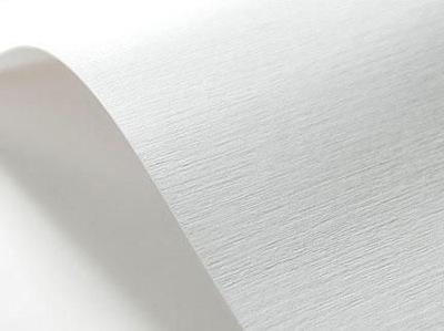 Papier ozdobny wizytówkowy 185g TKANINA biały200A5