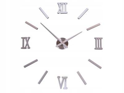 часы instagram современный БОЛЬШОЙ DIY 3D NAKLEJANY