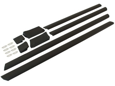 МОЛДИНГИ БОКОВЫЕ НИЖНИЕ zapink КОМПЛЕКТ для Audi 100 C4 A6, фото