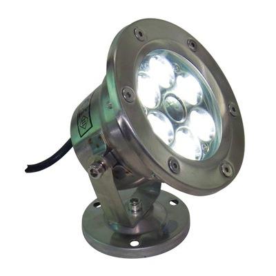 ЛАМПА LED - Фары ?? нержавеющей QL 21 6W Белый