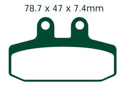 Klocki HONDA SJ 50 100 CA CLR CRM NS NSR NX XL 125