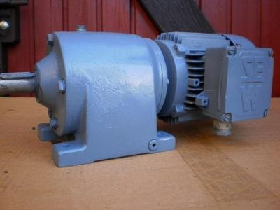 silnik elektryczny 0.3 kw motoreduktor 15 obr