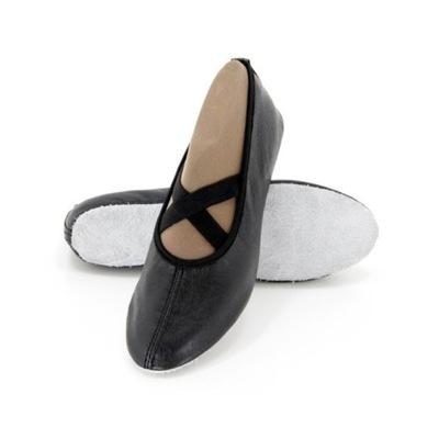 9dfa717a Baletki czarne na balet do tańca rozmiar 36 - 7237085179 - oficjalne ...