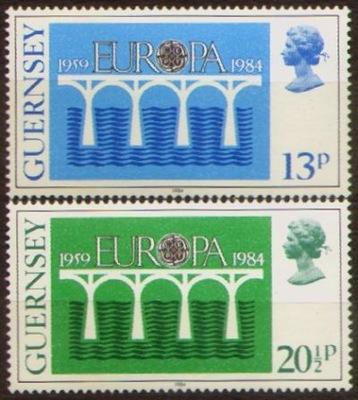 Гернси. Мне 286-87 ** Europa CEPT 1984