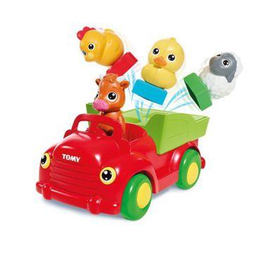 Didaktická hračka - Exkurzia Autom so Zvieratami tvar triedič Tomy