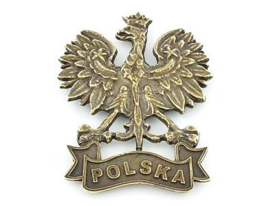 MAGNES NA LODÓWKĘ DUŻY ORZEŁ W KORONIE POLSKA- 002