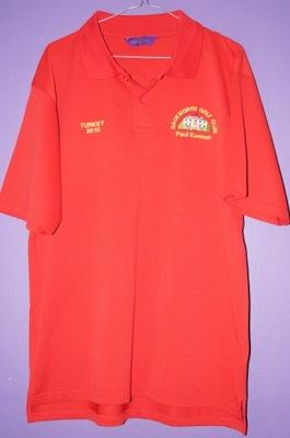 T-shirt polówka henbury backworth golf club XL