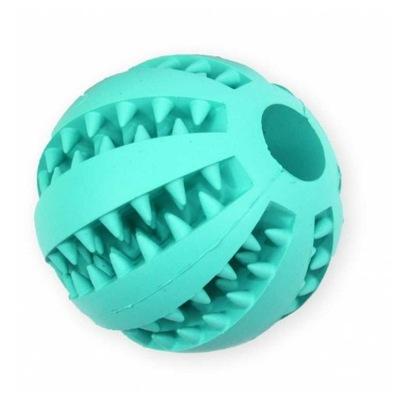 ПЭТ Nova игрушка мяч с МЯТОЙ очищает зубы 7cm.