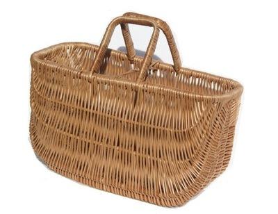 Košík prútený Kôš na Tuhé huby nákupní TAŠKA