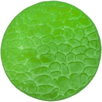 Protišmyková podložka -Dywanik łazienkowy 60cm 3D super miękki zielony