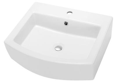 Umývadlo WASHBASIN BASE 55 SATURN WHITE WORLD