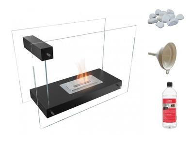Bio KRB LINATE čierne sklo bezpečné pásky