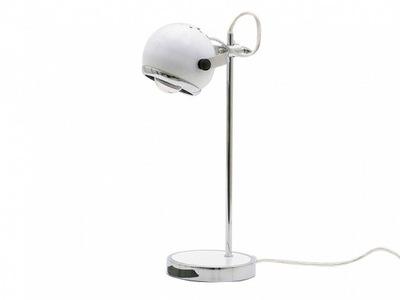 stolná Lampa Mini Retro kov biely tým, Leitmotiv