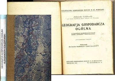 Geografia gospodarcza Ogólna 1929 Gołebiewski mapy