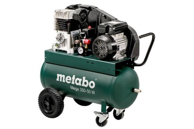 Kompresor, príslušenstvo - Kompresorový kompresor Metabo MEGA 350-50 W
