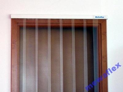 Kompletna Kurtyna PCV 150/2 1,00m x 2,10m Matowa