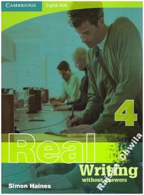 Real Writing 4 Cambridge English Skills NOWA