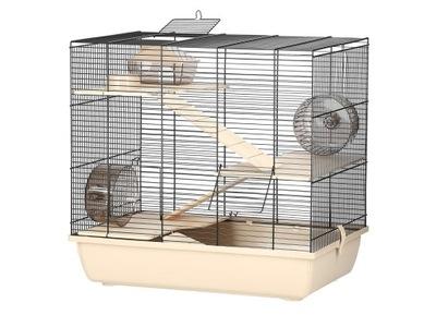 БОЛЬШАЯ клетка ДЛЯ ХОМЯКА, помойную крысу ~ REX 3