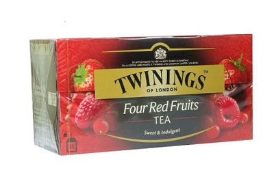 Twinings Four Red Fruits 25 тор.