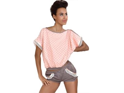 87d6e203523bae Piżama krótkie spodenki na Allegro - kupuj taniej online