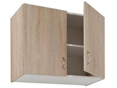 Шкаф кухонная подвесной светильник сонома 80cm