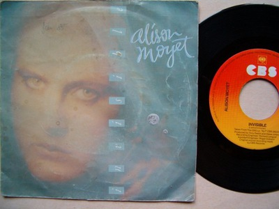 ALISON MOYET - INVISIBLE - HITCH HIKE