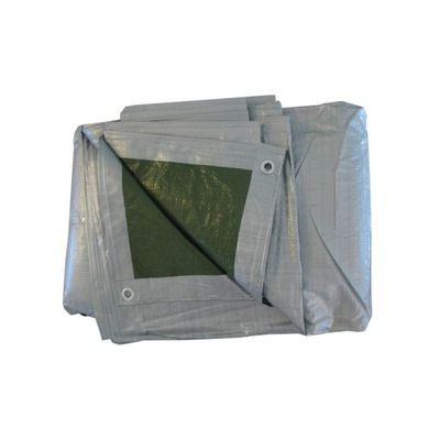Markíza 3x5 strieborno-zelená 120 g/m2 plachtou