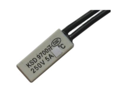 Wyłącznik termiczny 105'C 5A/250V otwarty /0758