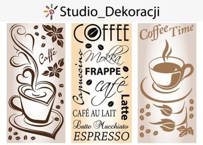 naklejki do kuchni naklejki ścienne kawa na ścianę