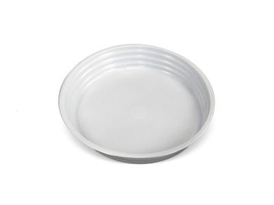 Тарелки пластиковые одноразовые белое 22см 100 штук .