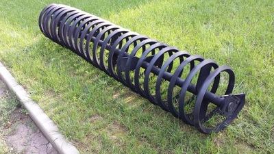 Wał uprawowy spiralny-netto 1000 zł/mb.