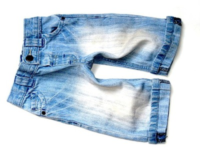 NEXT vintage spodnie spodenki jeansowe ___ 68