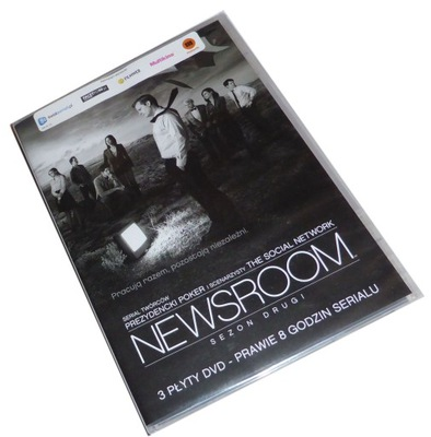 NEWSROOM sezon drugi 2 (BOX: 3DVD) - Nowy - SKLEP!