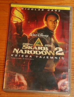 SKARB NARODÓW 2 KSIĘGA TAJEMNIC  DVD